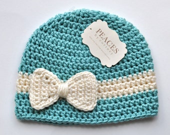 Baby Hats - Baby & Co Baby Blue Baby Beanie Hat (Baby Gifts Baby Beanie Newborn Hat Crochet Baby Hat Newborn Hats Baby Beanies)