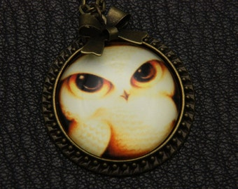 Necklace owl 2525C