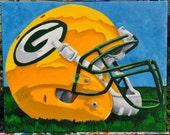 Green Bay Packers Helmet Fine Art