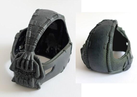 Bane 1:1 Dark Knight Rises TDKR (unpainted) Mask, Prop