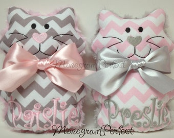Personalized Soft, Cuddly Kitty Soft Toy