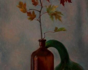 Autumn's Last Butterfly
