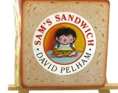 Children Pop Up book, Sam's Sandwich, David Pelham, First American Addition 1991, Hard Cover