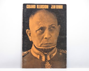 Grand Illusion by Jean Renoir 1968 Vintage French Film Script * English Translation