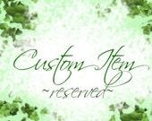 Custom Order for amirulkhalid