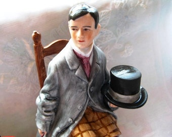 1980 Danbury Mint Rockwell Self-Portrait Collectible Figurine MINT