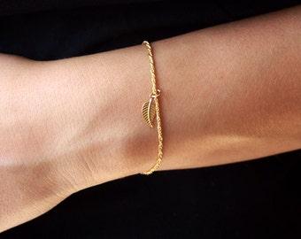 14k gold bracelet, delicate gold bracelet , delicat bracelet, gold bracelet, thin gold bracelet, dainty gold bracelet, minimalist bracelet
