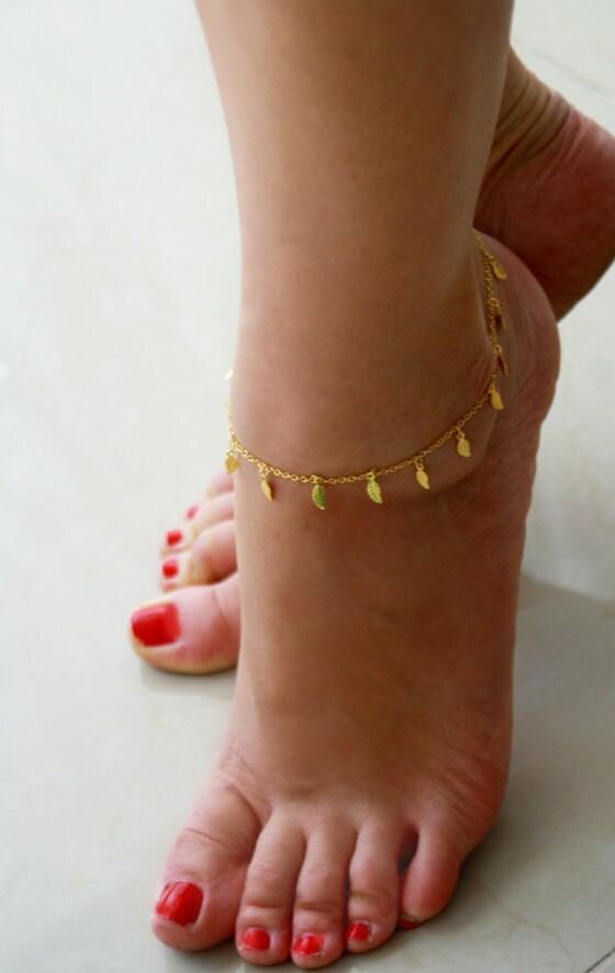 Ankle Bracelet Gold Ankle Bracelet Gold Bracelet Delicate