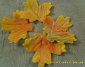 Gumpaste Autumn Leaves - confectionerygarden