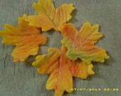 Gumpaste Autumn Leaves - confectionerygarden