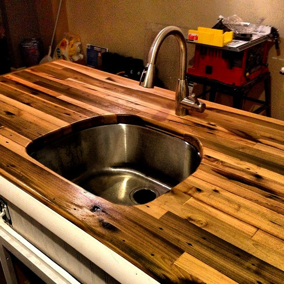 Diy Wood Kitchen Countertops: Butcher Block Countertop