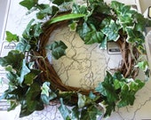 Vintage Ivy Wreath