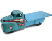 Marx USAF Rocket Launcher Truck Pressed Steel Tin Litho Toy