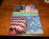 7 Day Afghans Hardback Book