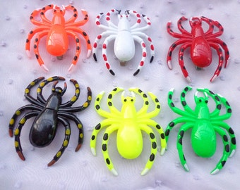 SALE-- 20pcs Lovely Spider Hair Clip Mixed Colors (10 clors)