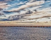 Lake Pontchartrain Bridge in New Orleans, Louisiana