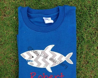 Personalized Shark Shirt