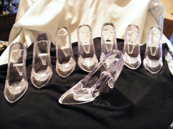 large clear acrylic high heel shoes 4 1 2 by