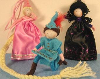 Rapunzel Storybook Doll Set
