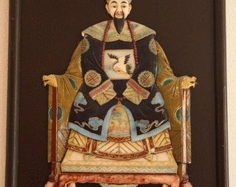 Qing Dynasty Emperor and Empress