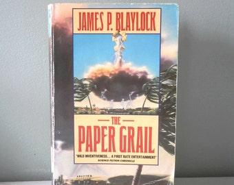 RARE The Paper Grail book James P Blaylock