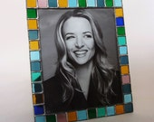 8 X 10 picture frame - stained glass - vertical or horizontal