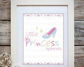 Little Princess Big Shoes To Fill Wall Ar-Print