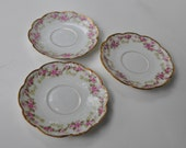 Limoges Elite Works  BAWO and DOTTER Saucers  BWD18 Made in France