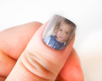 Custom Fake Nails, Custom Nail Art, Personalized Nails, Portrait Nails, False Nails, Acrylic Nails, 3D Nails, Custom Nails, Press on Nails