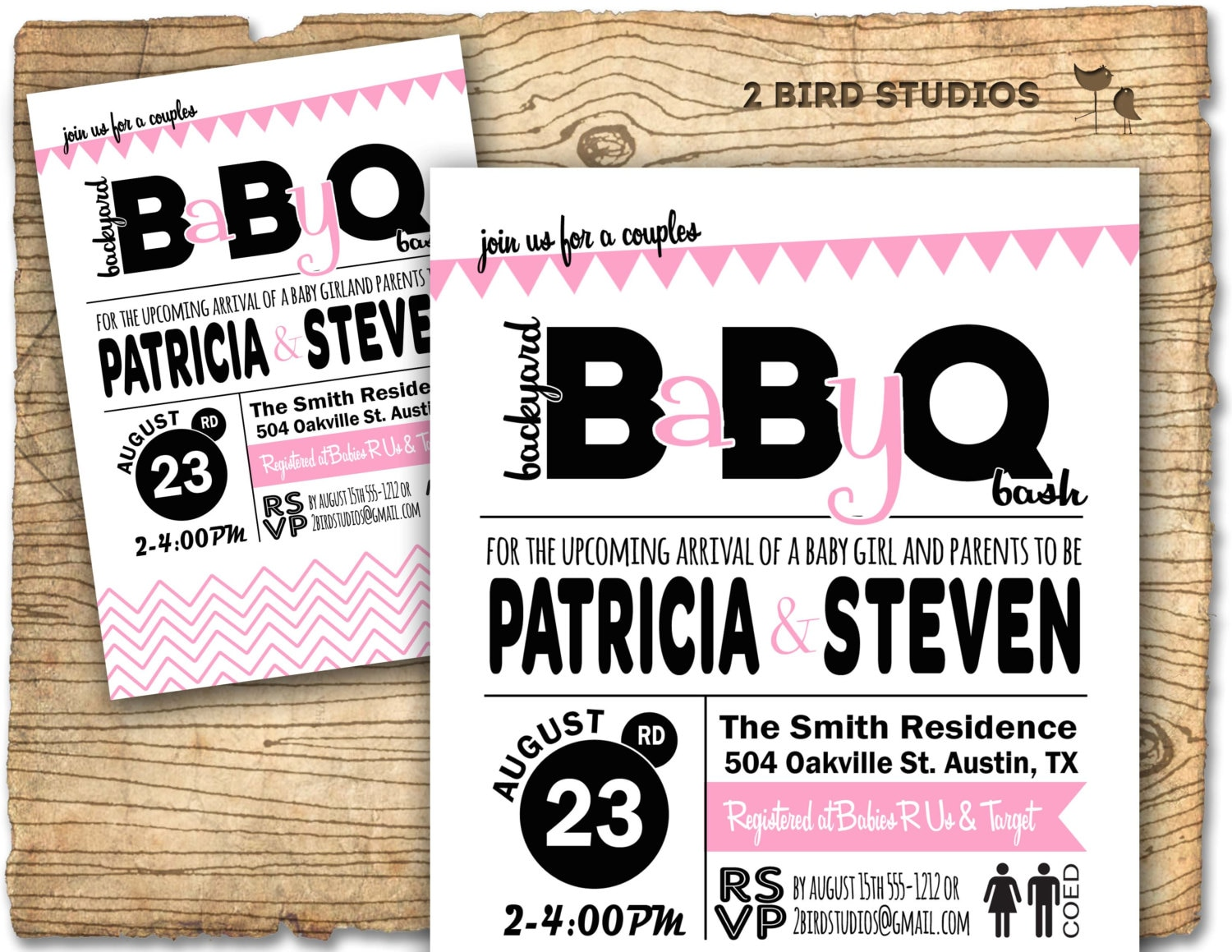invitation barbecue bbq baby shower invite coed barbeque couples shower zoom