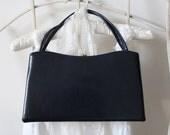 Vintage Dover navy blue handbag,USA,