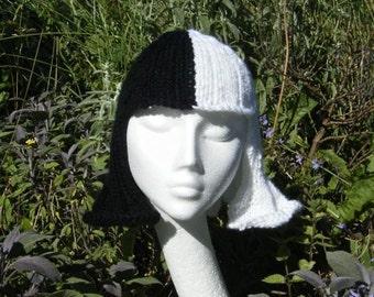 Cruella Deville knitting pattern, perfect for Halloween