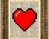 Legend of Zelda Heart Dictionary Art