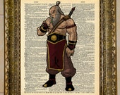 Avatar: The Last Airbender Uncle Iroh Dictionary Art
