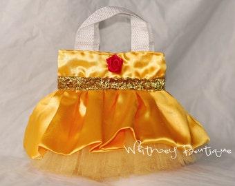 Belle Princess Tote Bag