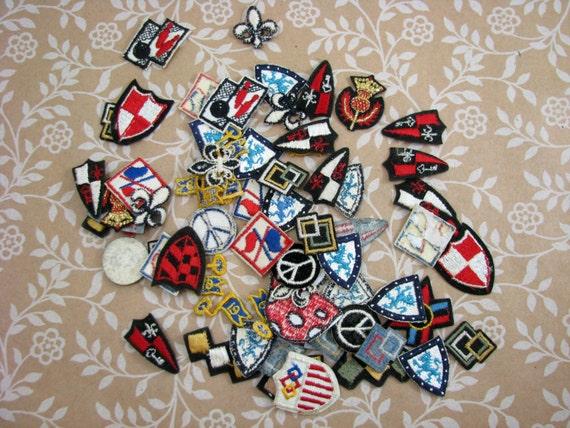 Lot Of Vintage Miniature Patches