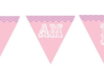 Owl 1st Birthday High Chair Banner Birthday Printable (pdf file only)