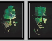 Breaking Bad Poster Set featuring Walter and Jesse Set of 2