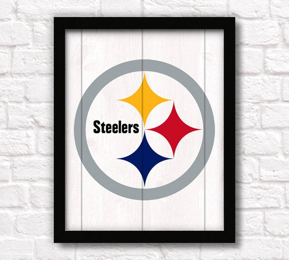 Home Decor Pittsburgh: PITTSBURGH STEELERS Home Decor Boys Room Or By ThePaintedLlama