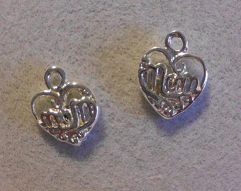 Silver Mom Charms