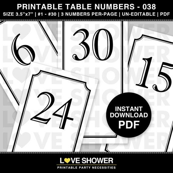 printable numbers 1 30 pdf