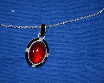 ON SALE  Very Pretty Pendant on a Nice Silver Chain