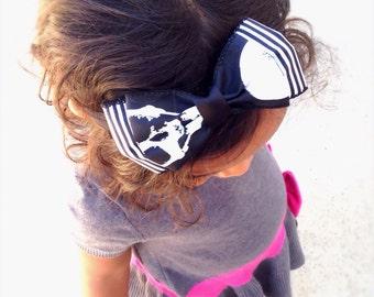 REDUCED Halloween Hair Bow Headband Or Hair Clip, Children Halloween Headband, Baby Girl Hair Bow Headband, Girls Hair Bow Headband
