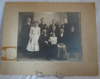 Vintage Photograph - Herbert Small Family - c. 1920-1930