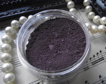 Haunted - Dark Rich Plum Purple Matte Eyeshadow Organic Vegan