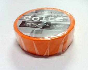 Colte Washi Masking Tape / orange / CP017 / 1  rolls