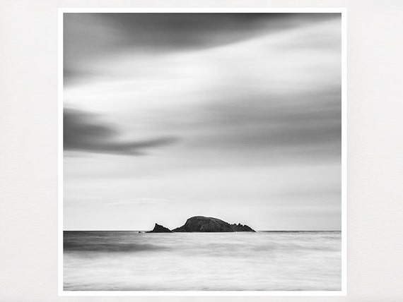 Zen wall art minimalist art black and white by for Minimalist gifts for housewarming