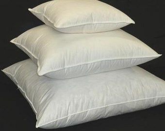 Duck feather and down fill cushion pad, pillow insert, to fit my covers.