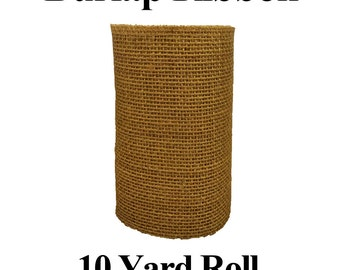 Burlap Ribbon - 10 Yard Roll