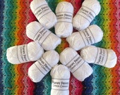 Planet Penny Cotton Colours Yarn - Snowdrop - TEN 50g Balls